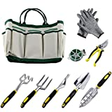 Ucharge 9Pcs Garden Tool Sets-a Plant Rope,Soft Gloves,6...