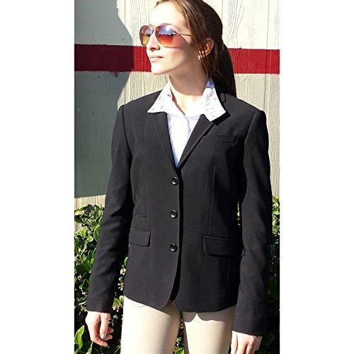 Devon-Aire Ladies Signature Show Coat XS (Devon Aire Womens Shirt)