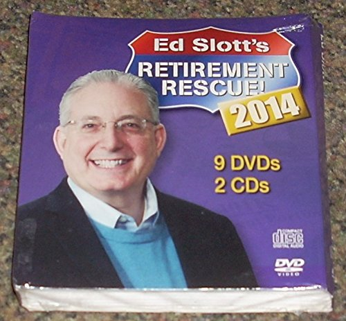 (Ed Slott's Retirement Rescue 2014 - 9 DVDs and 2 CDs PLUS BONUS Hardcover book)
