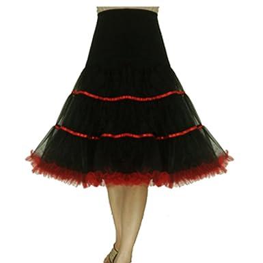 Drasawee Mujer Vintage AÑOS 50 vestido de novia aro Petticoat ...