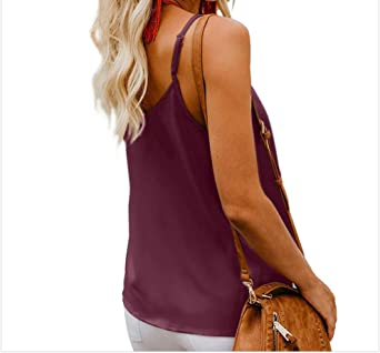 Sling Bottoming Vest Mujer Verano Wear Loose Solid Color ...