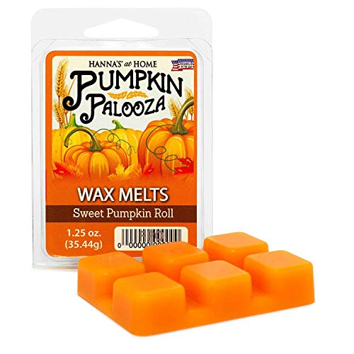 Candlemart by Hanna's Candle Company Sweet Pumpkin Roll Scented Wax Melts ()