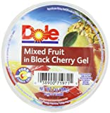 Cheap Dole Mixed Fruit In Black Cherry Gel, 7-Ounce Cups (Pack of 12)
