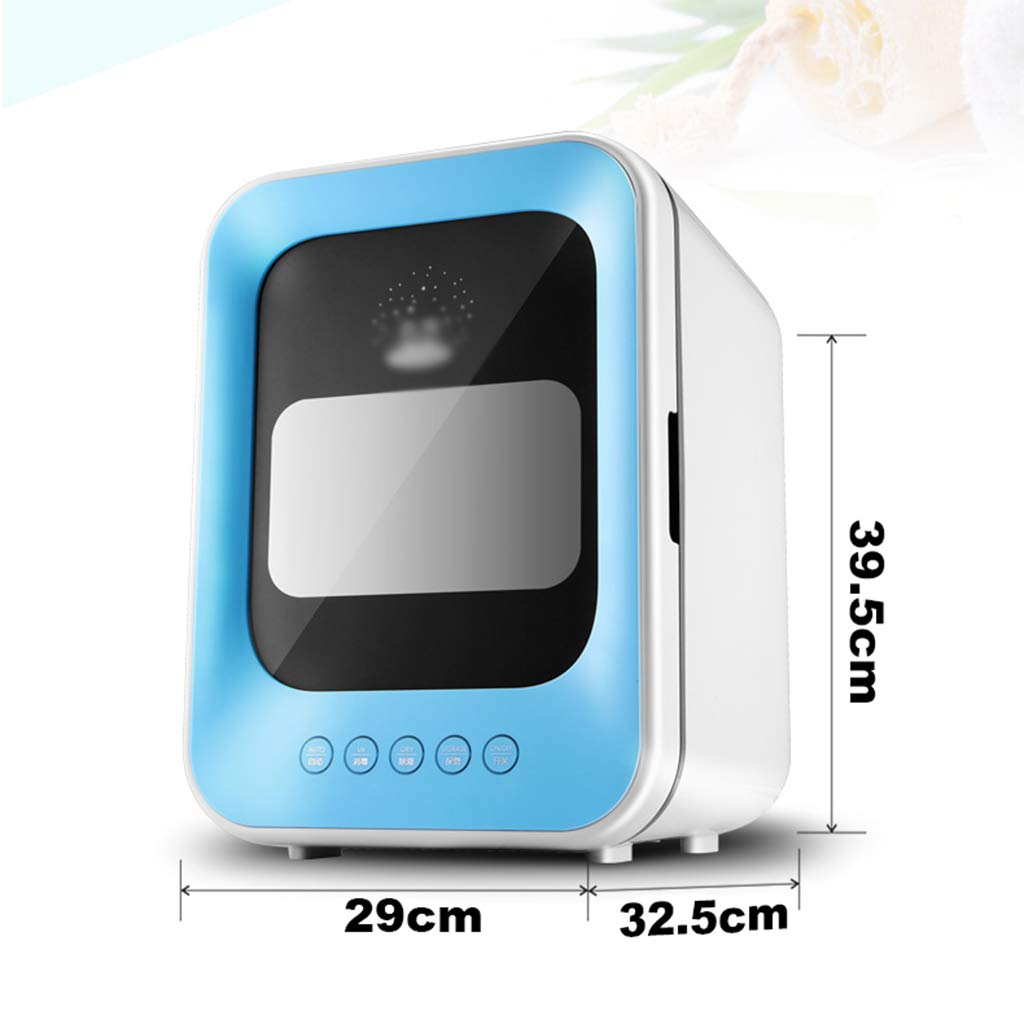 DZWSD 18L Esterilizador de microondas Desinfección UV ...