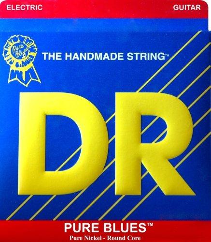 Dr phr-9 Pure Blues luz Lite níquel redondo Core cuerdas para guitarra eléctrica 9 - 42: Amazon.es: Instrumentos musicales