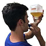 Q-Bong Beer Bong - Ultimate 36 Oz Compact, World's First Pressurized Explosive Beer Bong for Party Use, Perfect Addition to Beer Pong / Beirut or any Adult Drinking Games