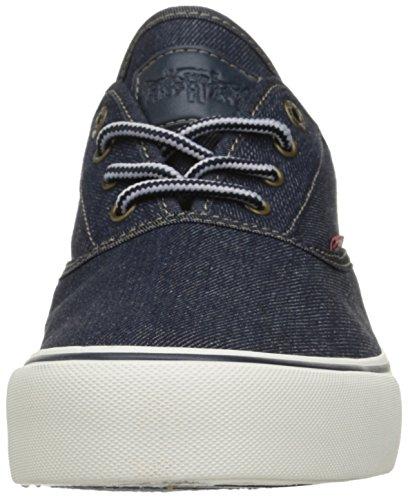 Levis Heren Rob Denim Fashion Sneaker Navy Denim