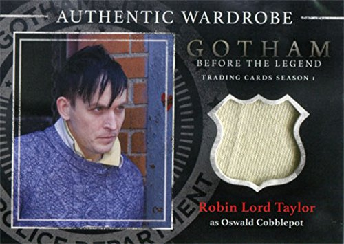 [Gotham Season 1 Costume Card M26 Robin Lord Taylor as Oswald Cobblepot] (Gotham Costumes)