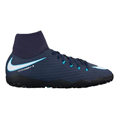 0e07839448d93 Nike Men's Hypervenom Phelon III Dynamic Fit TF Turf Soccer Cleats ...