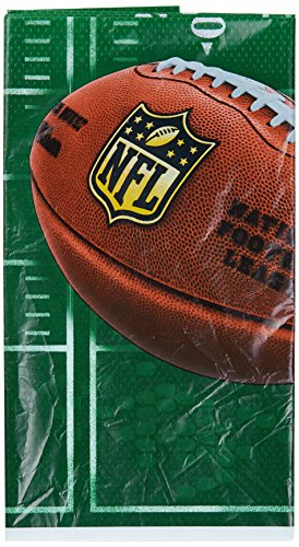 DesignWare NFL Drive Plastic Table Cover, 54 by 102