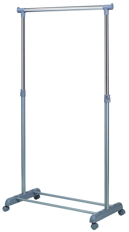 Perchero gris en PVC, 86 x 44 x 167 cm - pegane-: Amazon.es ...