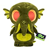 """From Horror, Cthulhu Dark Green Plush 12"""", as a stylized Plushiest from Funko! Plush stands 8 inches. Check out the other Plushiest figures from Funko! Collect them all!."""
