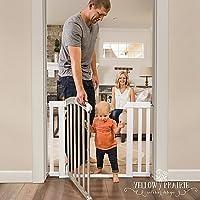 Summer Infant HomeSafe Classic Home Walk-Through Gate (White/Grey)