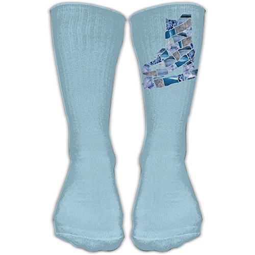 Mid Calf Length Socks Glacier Skates Basketball Sports Stockings Boot Crew Socks For Man Women - Glacier Winter Boots
