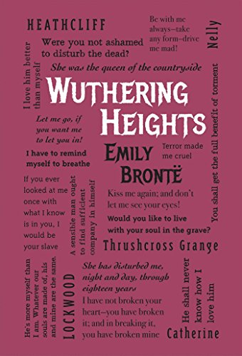 Image result for word cloud classics emily bronte book cover
