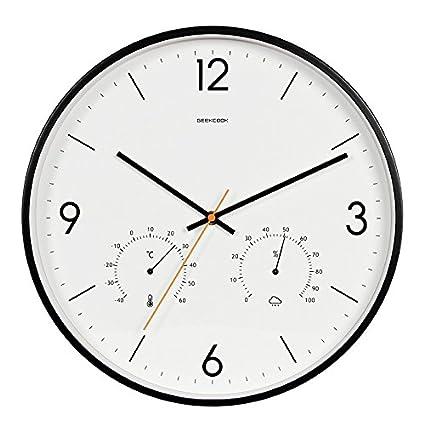 Amazon Com Mbd Modern Quartz 14 Inch Non Ticking Wall Clocks For