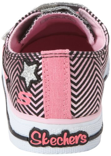 Skechers Kids 10249N TWINKLE TOES - S LIGHTS - Shuffles - Triple Up Sneaker with blinking lights (Toddler/Little Kid)