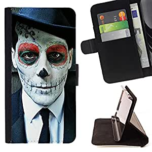 - Clown Kidding Man Joker - - Monedero pared Design Premium cuero del tir?n magn?tico delgado del caso de la cubierta pata de ca FOR Sony Xperia Z3 Compact Funny House