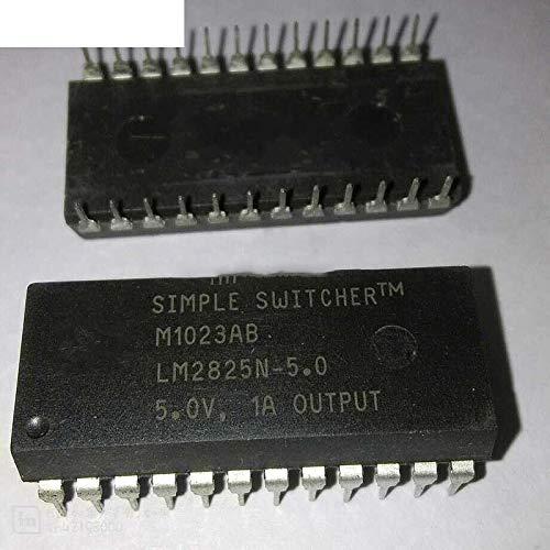 3pcs//lot LM2825N-5.0 DIP24 IC REG Buck 5V 1A 24-DIP LM2825N5.0 LM2825-5.0 LM2825N-5.0//NOPB
