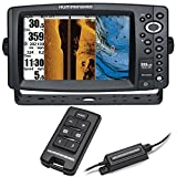"Humminbird 999ci HD SI Combo w/AS RCI Remote (8"" Display GPS Chartplotter, Ethernet, 8000 watts, Dual Card Reader, 360 imaging)"