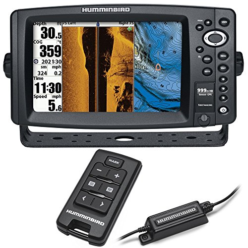 Humminbird 999ci HD SI Combo w/AS RCI Remote (8″ Display GPS Chartplotter, Ethernet, 8000 watts, Dual Card Reader, 360 imaging) Review