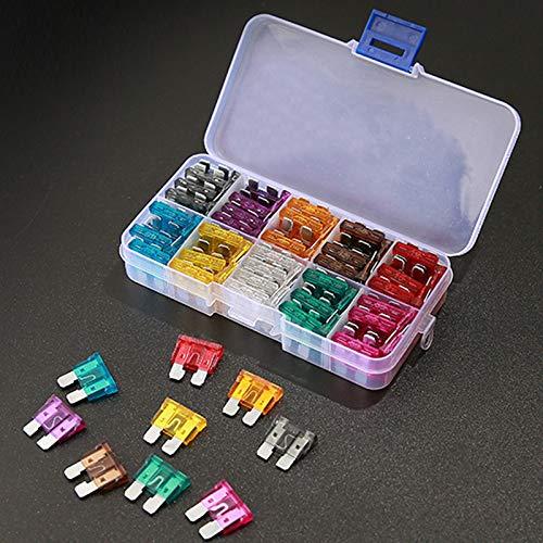 Fusibles Caja 2A 3A 5A 7,5A 10A 15A 20A 25A 30A 35A para Moto Hogar Barco