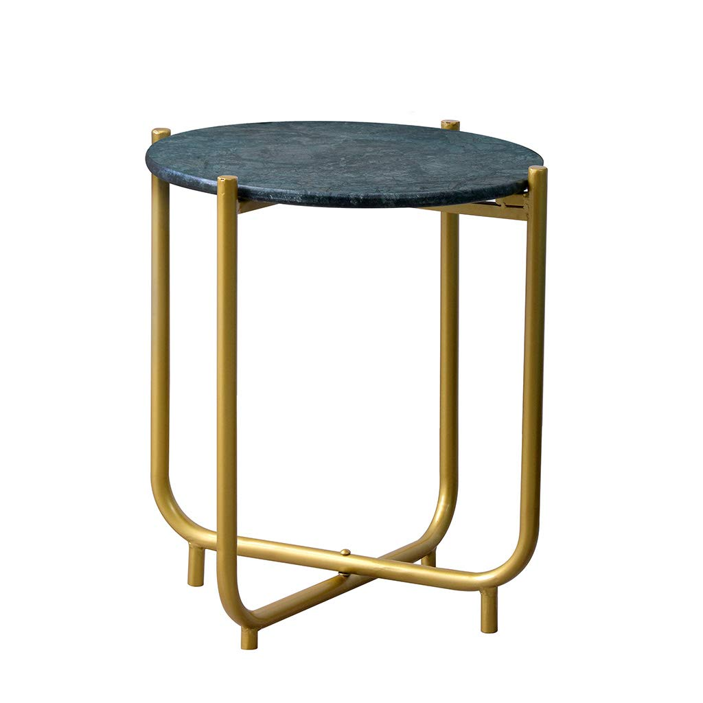 JCOCO Nordic Minimalist Sofa Side Small Round Table Nordic Wind Side Table Bedside Table Small Coffee Table