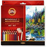 KOH-I-NOOR 3714072001KZ Aquarelle–Lápices de colores (paquete de 72)