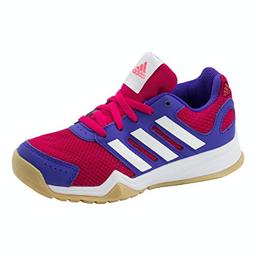 adidas Kinder Trainingsschuhe Interplay K PINK/WEISS/LILA