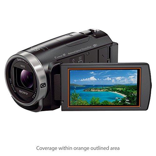 2-Pack Anti-Fingerprint Matte Film Skin for Canon Legria HF G50 ClearTouch Anti-Glare BoxWave Canon Legria HF G50 Screen Protector
