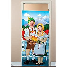 Oktoberfest Photo Door Banner (1 piece) Party Supplies, Photo Supplies