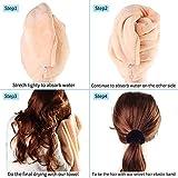 Ysvialer New Special design Microfiber Hair Towel