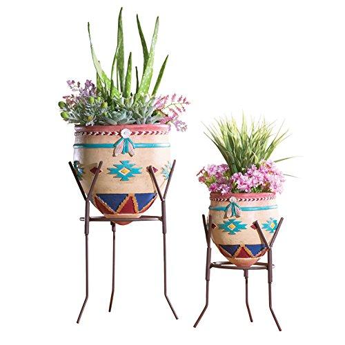 Southwest Garden Planters - Set Of 2 (Native Garden Collection)
