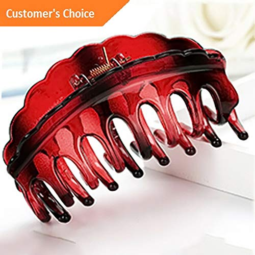 Werrox Women Hair Plastic Claws Clamp Clips Hairpin Banana Grips Slides Accessories | Model HRPN - 1128 |