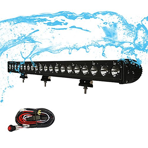 "High Power 200w 20 Inch Jeep Accessories Led Light Bar For: MICTUNING 37"" 200W Long Distance CREE Led Light Bar Combo"