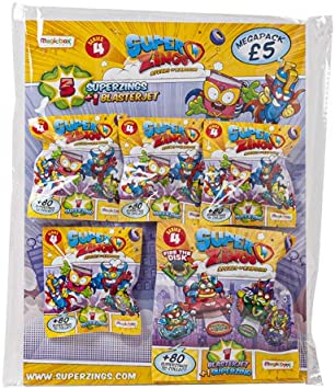 SuperZings Serie 4 Mega Pack (Magic Box PSZ4M112UK00): Amazon.es: Juguetes y juegos