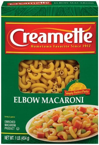 Creamette Elbow Macaroni Pasta, 16 Oz (Pack of 5)