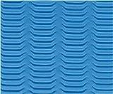 EcoWise Yoga & Pilates Mat (Ocean Blue)