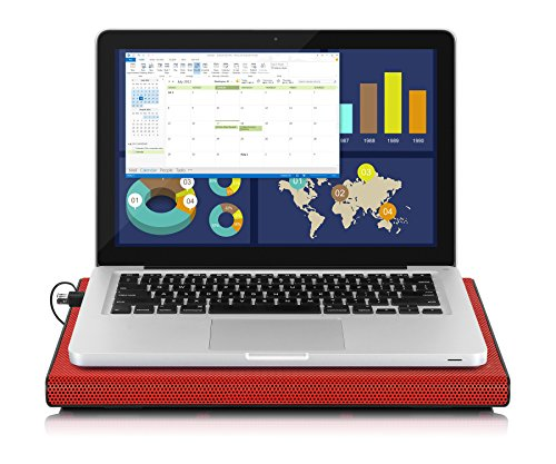 Aluratek Slim USB Laptop Cooling Pad (Supports Up to 17'') - ACP01FR by Aluratek (Image #2)