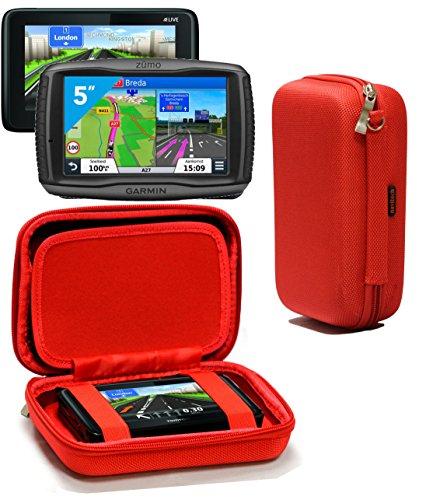 navitech red hard eva nylon protective tough carry case. Black Bedroom Furniture Sets. Home Design Ideas