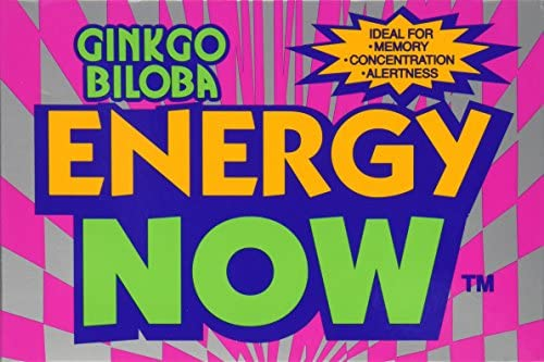 Energy Now Ginkgo Biloba 24pk Box