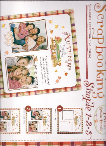 Scrapbooking, Simple 1,2,3, Fall by n/a