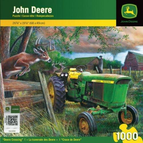 1000 Piece Puzzle - Deere Crossing John Deere