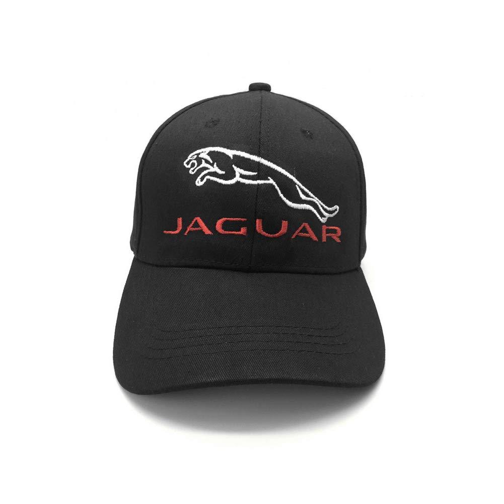b757b285 Home Fashion DIY Jaguar Car Logo Embroidered Baseball Cap Dad Hat Black Cap  Adjustable