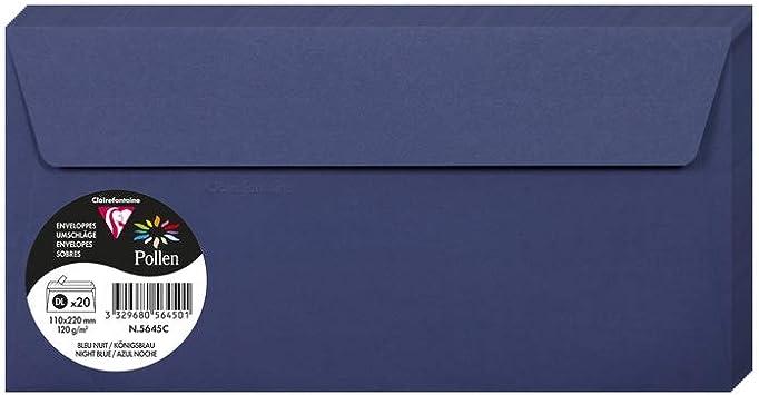 120 g Kakaofarben Clairefontaine Pollen mit Bl/ättern Karten und Umschl/ägen 75 x 100 mm