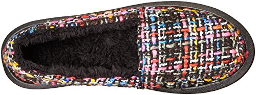 Sanuk Womens Shor-knitty Flat Black / Multi Tweed