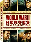 World War II Heroes Film Collection (Run Silent, Run Deep / The Great Escape / A Bridge Too Far / The Battle of Britain)