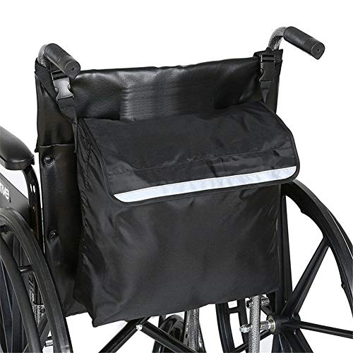 - ZHOUHUAW Storage Backpack for Wheelchairs and Walkers, Accessory Pack for Your Mobility Devices, Large Expanding