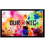 """Duronic APS90/169 Screen Only Wall Mountable HD Projection Screen for 