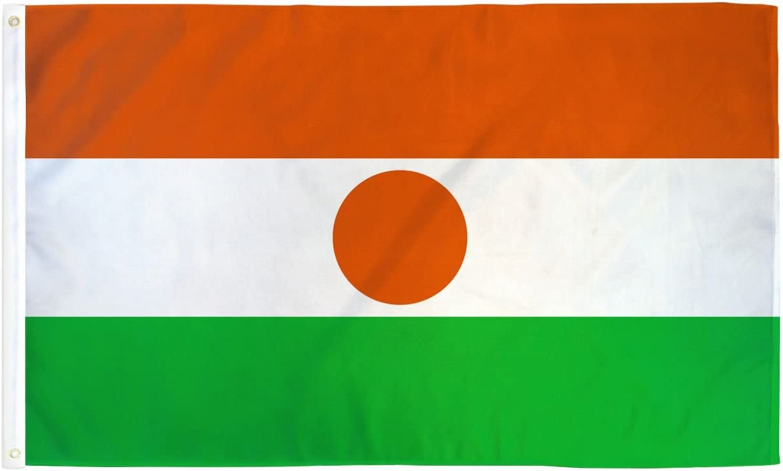 3x5 Niger Flag Country Banner New Indoor Outdoor